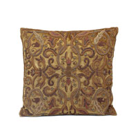 John Richard Pillow Decorative Accessory in Antique Gold JRS-03-3106