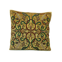 John Richard Pillow Decorative Accessory in Antique Gold JRS-03-3131