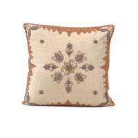 John Richard Pillow Decorative Accessory in Coral JRS-03-3199