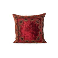 John Richard Pillow Decorative Accessory in Burnt Orange and Wine JRS-03-3249