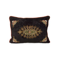 John Richard Accessories Pillow in Black  JRS-03-3254