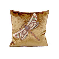 John Richard Pillow Decorative Accessory in Olive Green JRS-03-3286