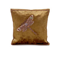 John Richard Accessories Pillow in Olive Green  JRS-03-3287