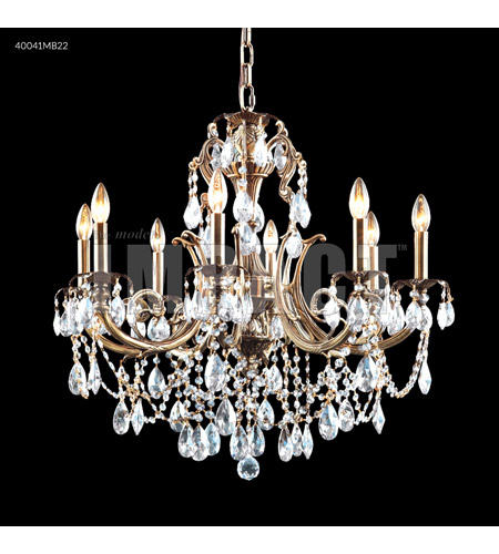 James R. Moder Cast Brass Chandeliers