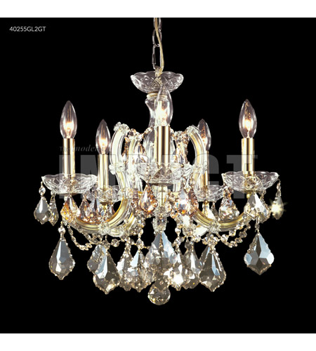 James R. Moder 40255S0T Maria Theresa 5 Light 18 inch Silver Mini Chandelier Ceiling Light photo thumbnail