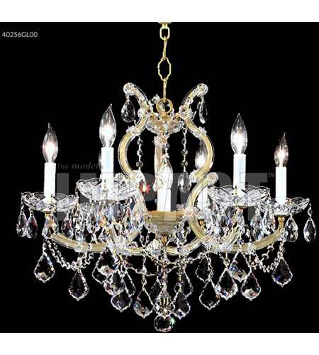 Gold Lustre Crystal Chandeliers