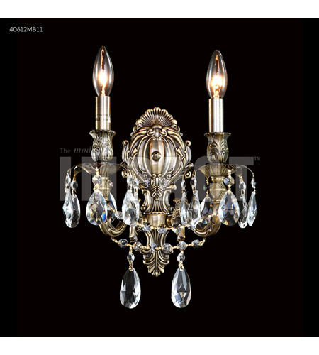 Monaco Bronze Crystal Brindisi Wall Sconces