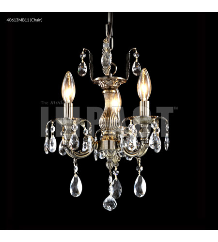 Monaco Bronze Crystal Brindisi Mini Chandeliers