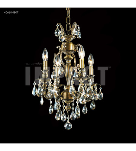 Monaco Bronze Crystal Chandeliers