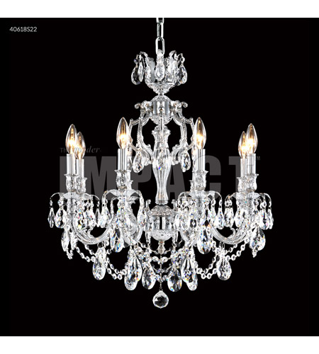 James R. Moder 40618S22 Brindisi 8 Light 23 inch Silver Crystal Chandelier Ceiling Light photo thumbnail