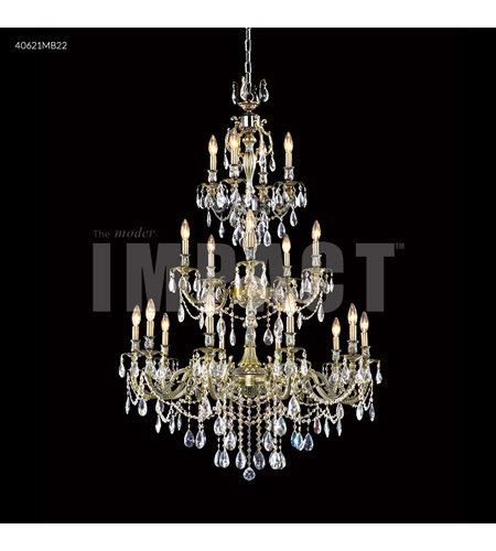 James R. Moder 40621MB22 Brindisi 20 Light 36 inch Monaco Bronze Entry Chandelier Ceiling Light photo thumbnail