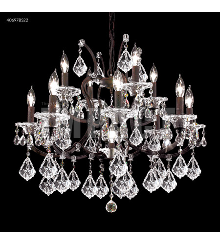 James R Moder 40697bs22 Cosenza Collection 13 Light 27 Inch Burnt Sienna Chandelier Ceiling