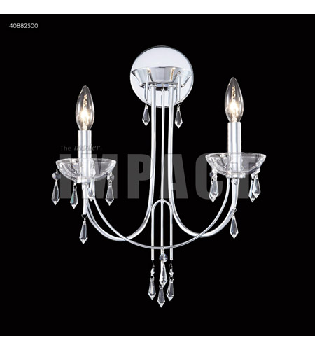 James R. Moder 40882S00 Spring Rain 2 Light Silver Wall Sconce Wall Light photo thumbnail