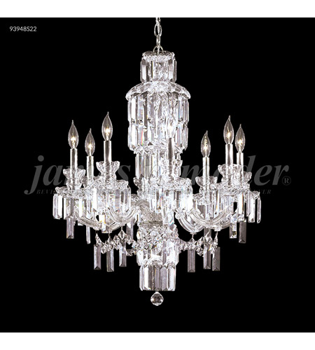 Silver Crystal Buckingham Chandeliers