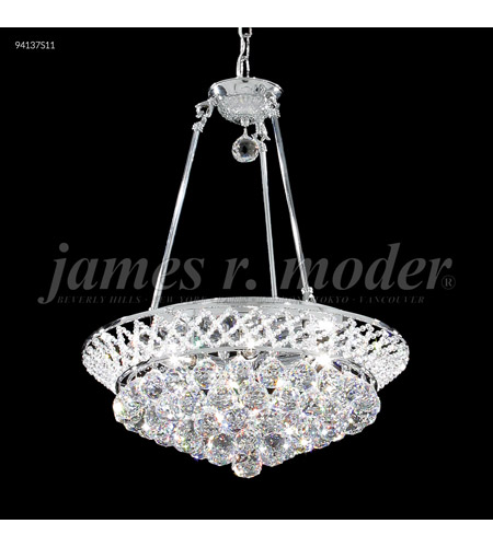 Silver Jacqueline Chandeliers