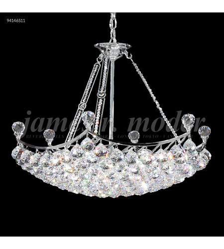 Silver Crystal Jacqueline Chandeliers