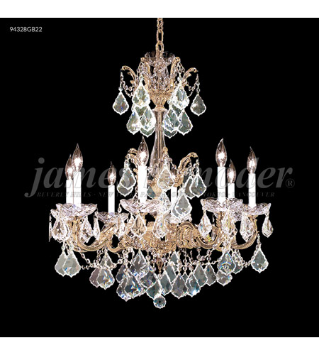 James R. Moder Bronze Madrid Chandeliers