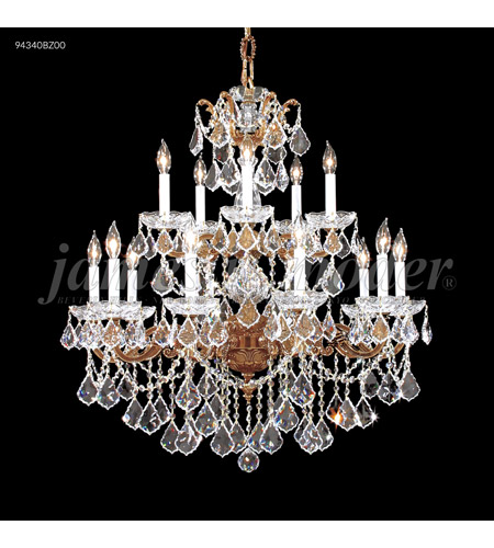 James R. Moder 94340BZ00 Madrid 15 Light 33 inch Bronze Chandelier Ceiling Light photo thumbnail