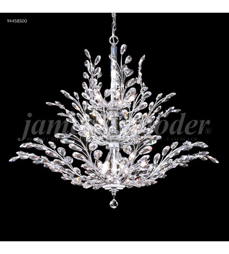 James R. Moder 94458S00 Florale 18 Light 38 inch Silver Chandelier Ceiling Light photo thumbnail