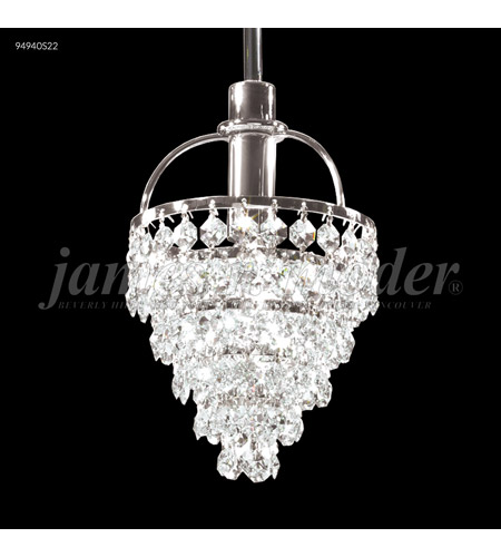 James R. Moder 94940S2B Tekno Mini 1 Light 5 inch Silver Pendant Ceiling Light photo thumbnail