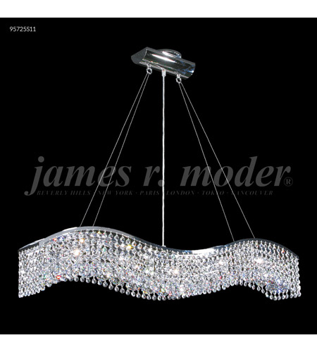 James R. Moder 95725S11 Fashionable Broadway 5 Light 5 inch Silver Mini Chandelier Ceiling Light photo thumbnail