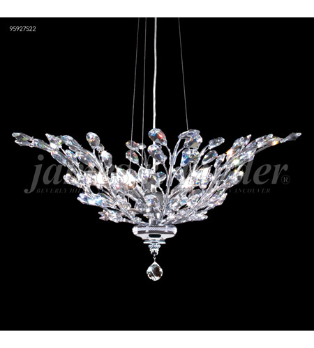 James R. Moder Silver Florale Pendants