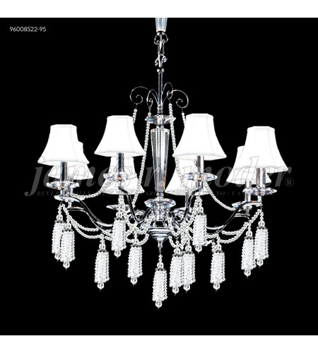 James R. Moder Silver Tassel Chandeliers