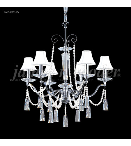 James R. Moder Crystal Pearl Chandeliers