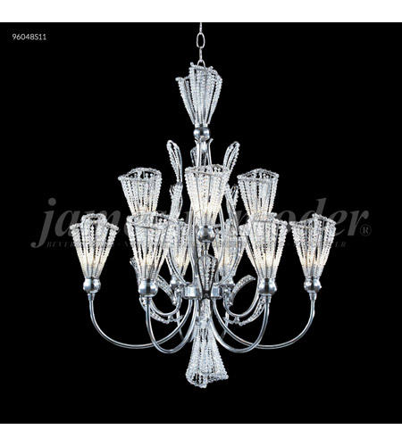 Silver Crystal Jewelry Chandeliers