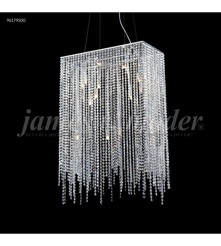 James R. Moder 96179S00 Continental Fashion 16 Light 12 inch Silver Mini Chandelier Ceiling Light photo thumbnail