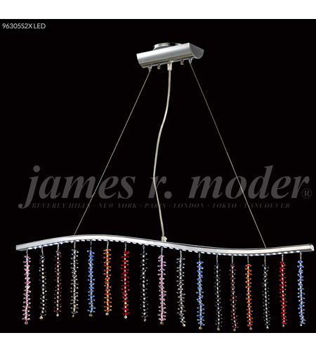 james r moder 96305s2xled fashionable broadway led silver linear