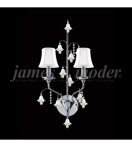 James R. Moder Murano Wall Sconces