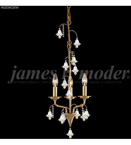 Aged Gold Crystal Mini Chandeliers