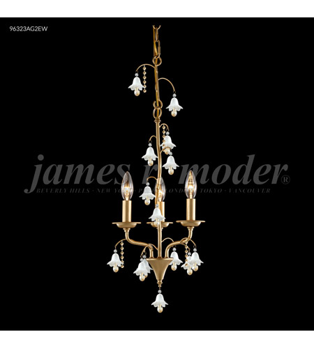 Silver Crystal Murano Mini Chandeliers