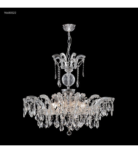 James R. Moder 96680S22 Maria Theresa Grand 8 Light 32 inch Silver Crystal Chandelier Ceiling Light photo thumbnail