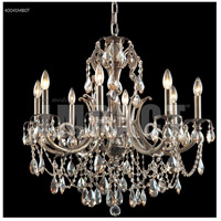 James R. Moder 40041MB0T Monaco 8 Light 28 inch Monaco Bronze Chandelier Ceiling Light