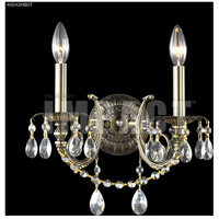James R. Moder 40042MB0T Monaco Cast Brass Collection 2 Light Monaco Bronze Wall Sconce Wall Light