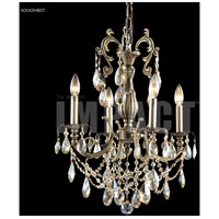 James R. Moder 40044MB0T Monaco Cast Brass Collection 4 Light 18 inch Monaco Bronze Chandelier Ceiling Light
