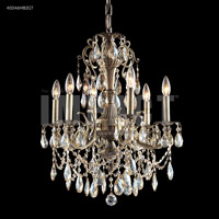 James R. Moder 40046MB2GT Monaco 6 Light 23 inch Monaco Bronze Chandelier Ceiling Light