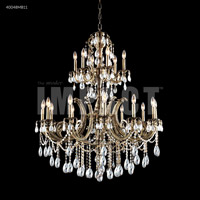 James R. Moder 40048MB11 Monaco 12 Light 30 inch Monaco Bronze Chandelier Ceiling Light