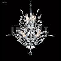 James R. Moder 40106S00 Regalia Collection 7 Light 21 inch Silver Chandelier Ceiling Light