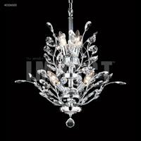 James R. Moder 40106S00 Regalia Collection 7 Light 21 inch Silver Chandelier Ceiling Light