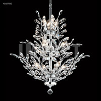 Regalia 11 Light 27 inch Silver Chandelier Ceiling Light