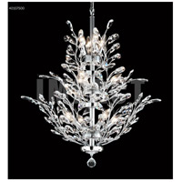 James R. Moder 40107S00 Regalia 11 Light 27 inch Silver Crystal Chandelier Ceiling Light
