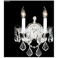 James R. Moder 40252S00 Maria Theresa Collection 2 Light Silver Wall Sconce Wall Light