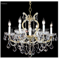 James R. Moder 40256GL11 Maria Theresa Collection 7 Light 23 inch Gold Lustre Chandelier Ceiling Light