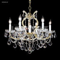 Maria Theresa 7 Light 23 inch Silver Chandelier Ceiling Light