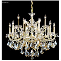 James R. Moder 40257GL0T Maria Theresa 16 Light 29 inch Gold Lustre Chandelier Ceiling Light