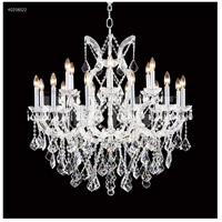 James R. Moder 40258S22 Maria Theresa Collection 19 Light 37 inch Silver Chandelier Ceiling Light