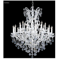 James R. Moder 40259SOT Maria Theresa 25 Light 46 inch Silver Entry Chandelier Ceiling Light